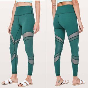 Lululemon NWT Seek The Heat Tight Green Jasper